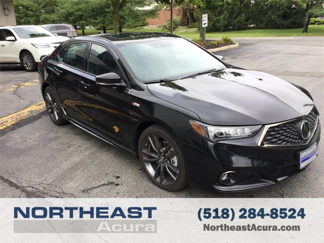New Acura TLX V AT PAWS With ASPEC D Sedan In - 2018 acura tsx navigation