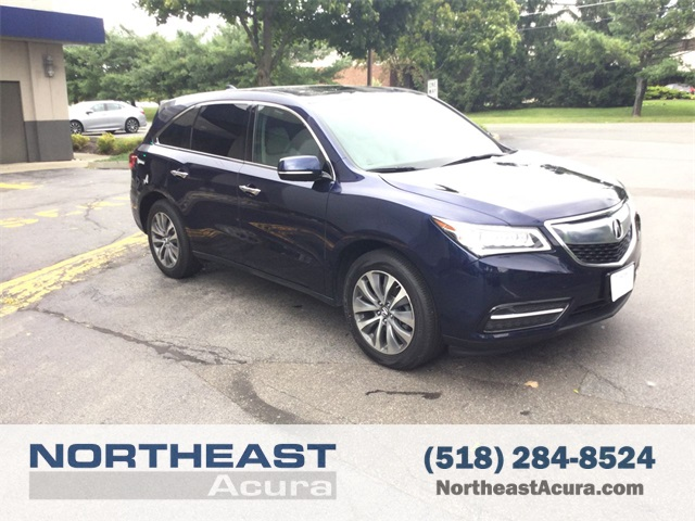 Certified PreOwned Acura MDX SHAWD With Technology And - Acura mdx pre owned
